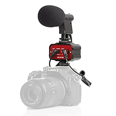 Movo Cinema Bundle with Mini Shotgun Video Microphone and 2-Channel Audio Mixer for DSLR Cameras & Camcorders