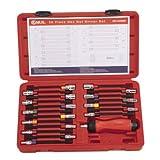 Genius Tools 20 Piece Metric & SAE Hex Nut Driver Set ND-020MS