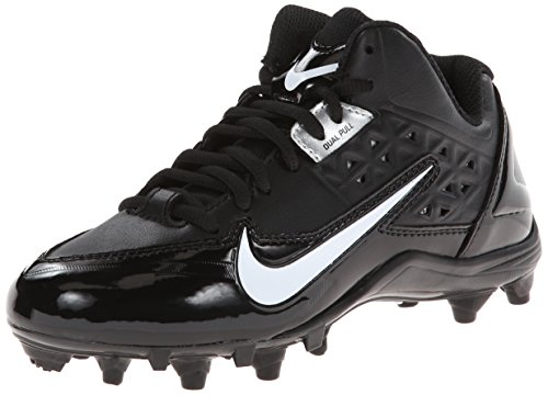 Kids Nike Alpha Strike 3/4 TD 579372 001 Black White Footbal