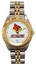 Louisville Cardinals- (Univeristy of) Ladies Executive Stainless Steel Sports Watch