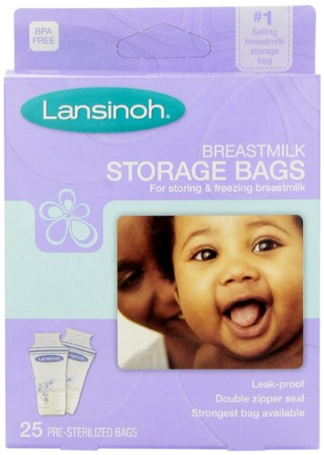 Lansinoh Breastmilk Storage Bags - 25 ct - 1