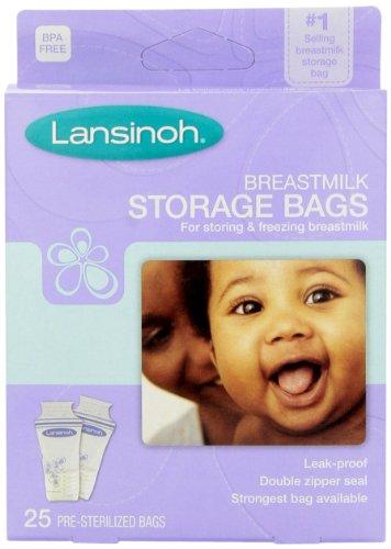 Breastmilk Storage Bags - 25 Count