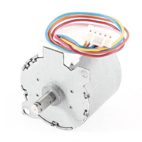 DC 12V 30Ohm 5 Pin Steckverbinderklimaanlage Ventil Micro Motor