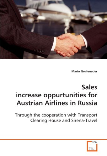 Sales increase oppurtunities for Austrian Airlines  in Russia: Through the cooperation with Transport Clearing  House and Sirena-Travel
