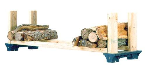 2x4basics 11419 Firewood Rack System BlackB00006RSOY : image