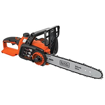 BLACK+DECKER LCS1240 40V MAX Lithium Ion Chainsaw, 12