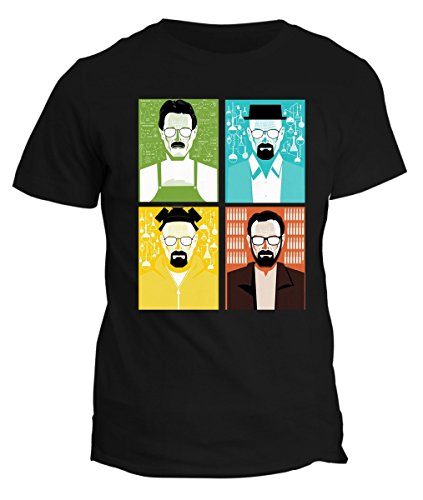Tshirt Breaking Evolution Bad - serie tv- in cotone by Fashwork