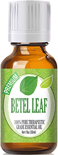 Betel Leaf (30ml) 100% Pure, Best Therapeutic Grade Essential Oil - 30ml / 1 (oz) Ounces
