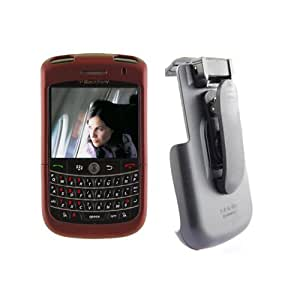Seidio Innocase II Surface Case and Holster Combo for BlackBerry Tour 9630 - Burgundy