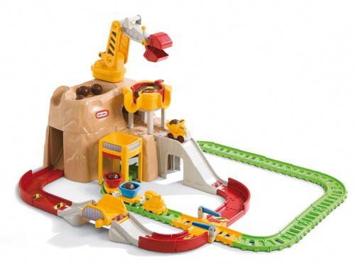 Little Tikes Little Tikes Big Adventures Construction Peak Rail And Road