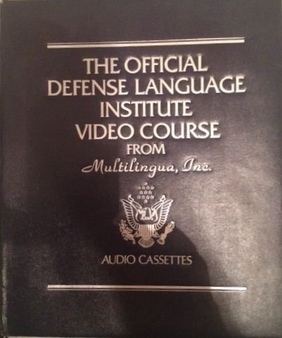 The Official Defense Language Institute Video Course From Multilingua, 7 VHS Video Cassettes 15 Audio Cassettes German PDF