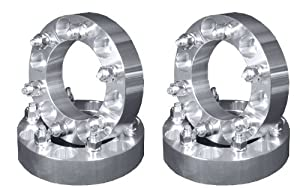 Four New 1.5″ Wheel Adapter Spacers 6-5.5 to 6×5.5 Large Center Hole 108mm