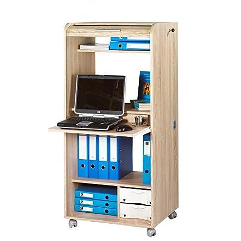 Simmob orga140cnb912Orga Armadio Mobile Computing con 2cassetti legno 53,2x 65,2x 139,9cm