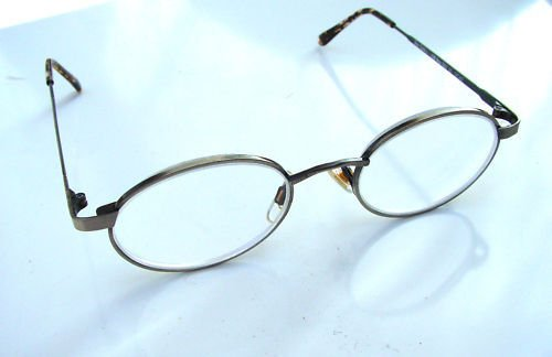 4 pairs of OVAL ROUND READING GLASSES +2.25 SILVER bay002