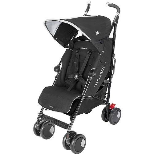 Maclaren Techno Stroller XT Stroller, Black (Discontinued by Manufacturer) - 1