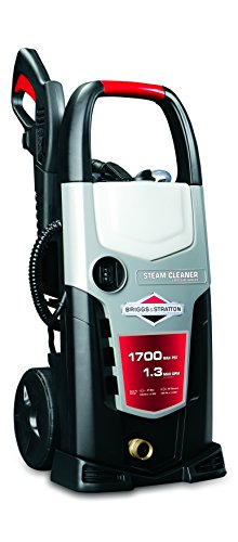 Briggs & Stratton 20511 1.3-Gpm 1700-Psi Electric Pressure Washer With On-Board Detergent Tank And Integrated Steam Cleaner