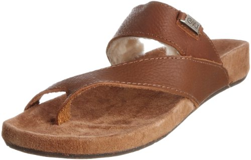 Emu Women's Rye Brown Thong Sandal W10113 7 UK