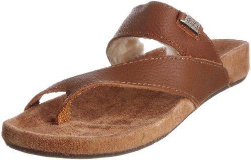 Emu Women's Rye Brown Thong Sandal W10113 7 UK