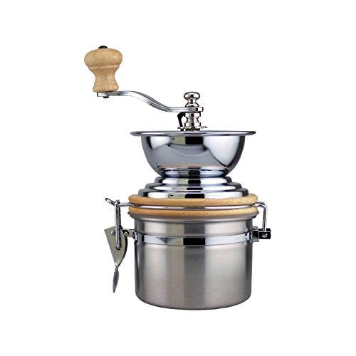 Stainless Steel Manual Coffee Mill Grinder, 12oz