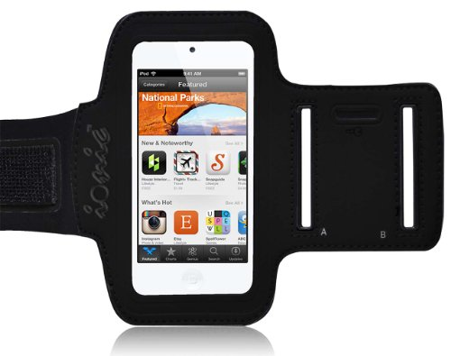 CrazyOnDigital Ionic Active Sport Armband Case for iPod touch 5G