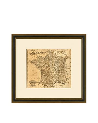 Antique Map of France, 1795