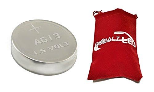 Cobalt® 4x AG13 Knopfzellen Batterien,