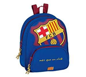 Safta - F.c. barcelona mini mochila  18 cm