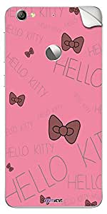 GsmKart LL1S Mobile Skin Sticker for LeEco Le 1S (Pink, Le 1S-600)