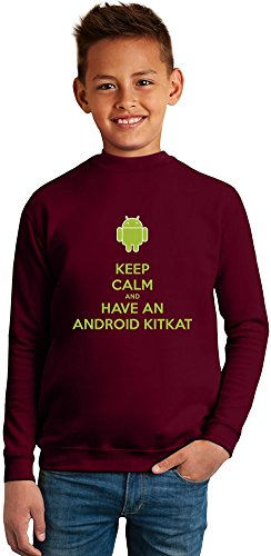 keep-calm-and-have-an-android-kit-kat-superb-quality-boys-sweater-by-true-fans-apparel-50-cotton-50-