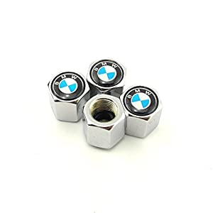 Fome Wrench Keychain Chrome Tire Valve Stem Caps For Bmw Fome Gift by Focus On Me LLC