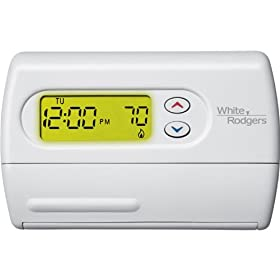 1F80-361 WHITE RODGERS SINGLE STAGE (1H/1C) 5+1+1 DAY PROGRAMMABLE DIGITAL THERMOSTAT