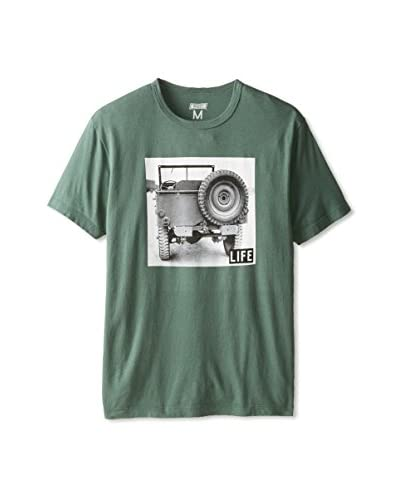 Tailgate Clothing Company Men's Life Jeep Crew Neck T-Shirt