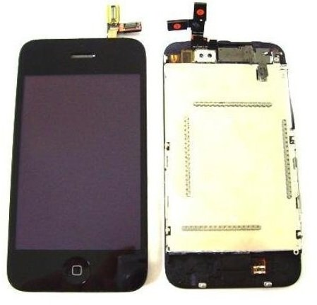 New Oem At&T Apple Iphone 3Gs Lcd Screen Digitizer Set
