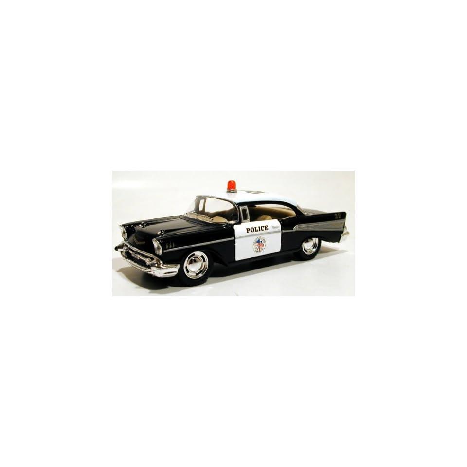 Kinsmart 1/40 1957 Chevy Bel Air Police Car