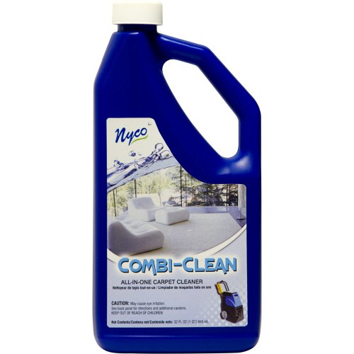 Nyco Products Nl90361 Combi-Clean All-In-One Carpet Cleaner, Citrus Scent, 3.0 - 6.0 Ph, 1 Qt Bottle (Case Of 6) front-500881