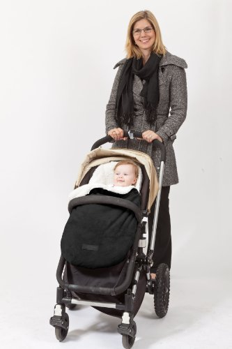 Comfy Baby Cozy Bunting with Inner Shearling - Fits Any Stroller & Car Seat - 1