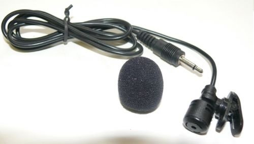 """Lapel Lavalier Mic Microphone Mono 3.5Mm 1/8"""" Connector With Clip Foam-Covers"""