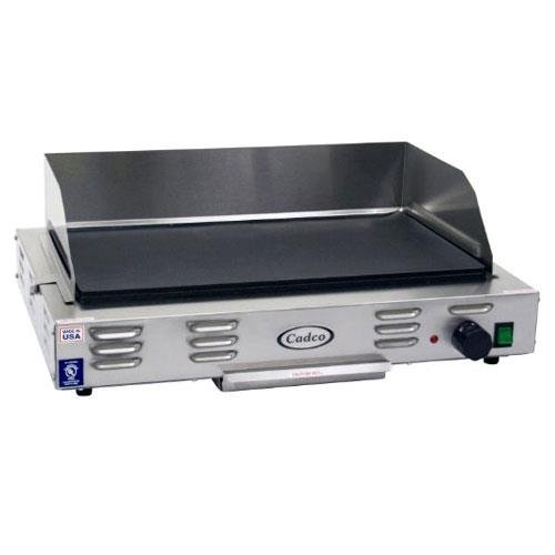 Cadco CG-20 Countertop 220-Volt Electric Griddle