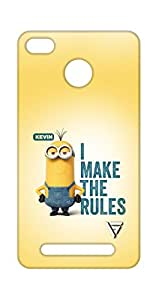 Vogueshell I Make The Rules Printed Symmetry PRO Series Hard Back Case for xiaomi Redmi 3s