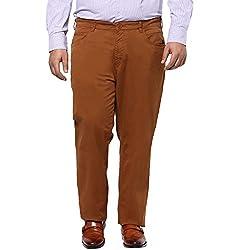 Alto Moda by Pantaloons Men's Trousers 205000005548094_Tobacco_4
