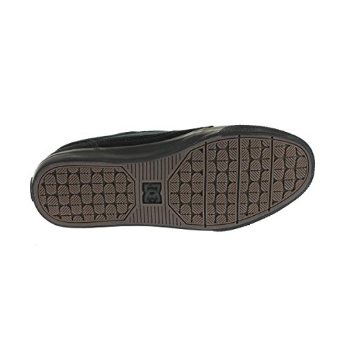 DC Men's Black Tonik Skate Shoe, Black/Black, 7.5 M US