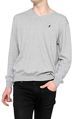 marlboro-classics-pulls-pull-homme-couleur-gris-taille-xxl