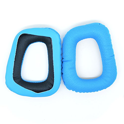 Replacement Earpad For Logitech G35 G930 G430 F450 Headphone / Headset Ear Cushion Ear Cover Pads Repair Parts (Blue)
