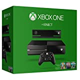 Xbox One 500GB Console with Kinect - 3 Game Bundle (Dance Central Spotlight  Kinect Sports Rivals  Zoo Tycoon)