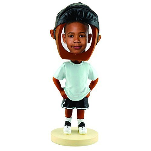 Hip Hop Boy Photo Bobble Head - Dark Skin Tone