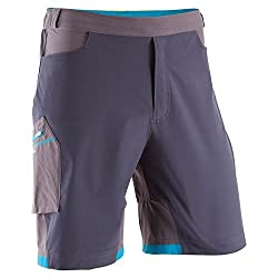 QUECHUA FORCLAZ 500 SPEED SHORTS GREY (M-L)