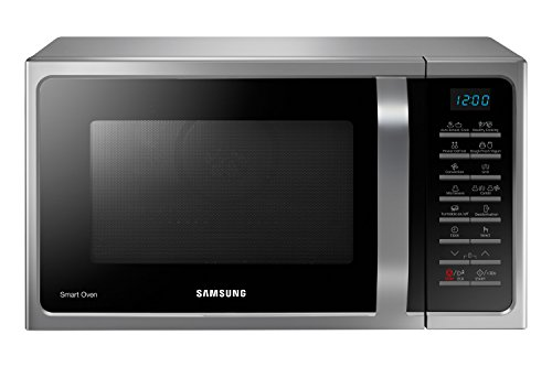 Samsung MC28H5015AS Forno a Microonde 900 W, Grill 1500 W, Capacità 28 L, Colore Grigio