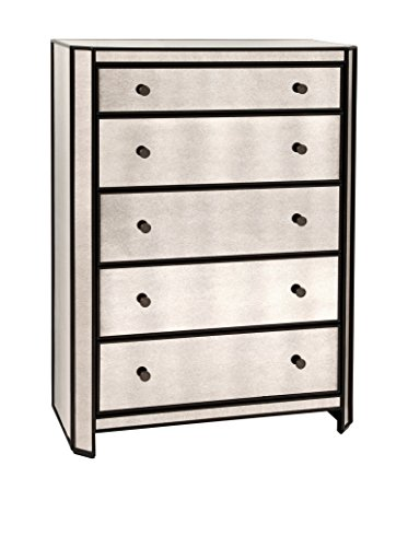 Bassett Mirror 5-Drawer Mcdowell Chest, Mirror