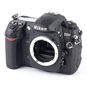 41TBCWE0FBL. SL500 AA280  Nikon D200 10.2MP Digital SLR Camera (Body Only)   $800 Shipped
