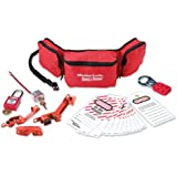Master Lock 1456E410 - Personal Lockout Pouch Kit (Electrical)